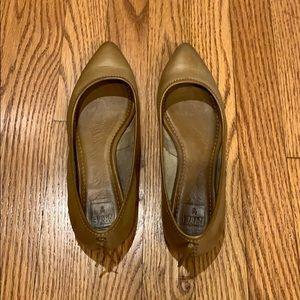 Frye Regina Leather Ballet Flats